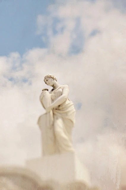 Fine Art Photography Cemetery Statue Modern Wall Decor Room Decor - Gallery32Photography