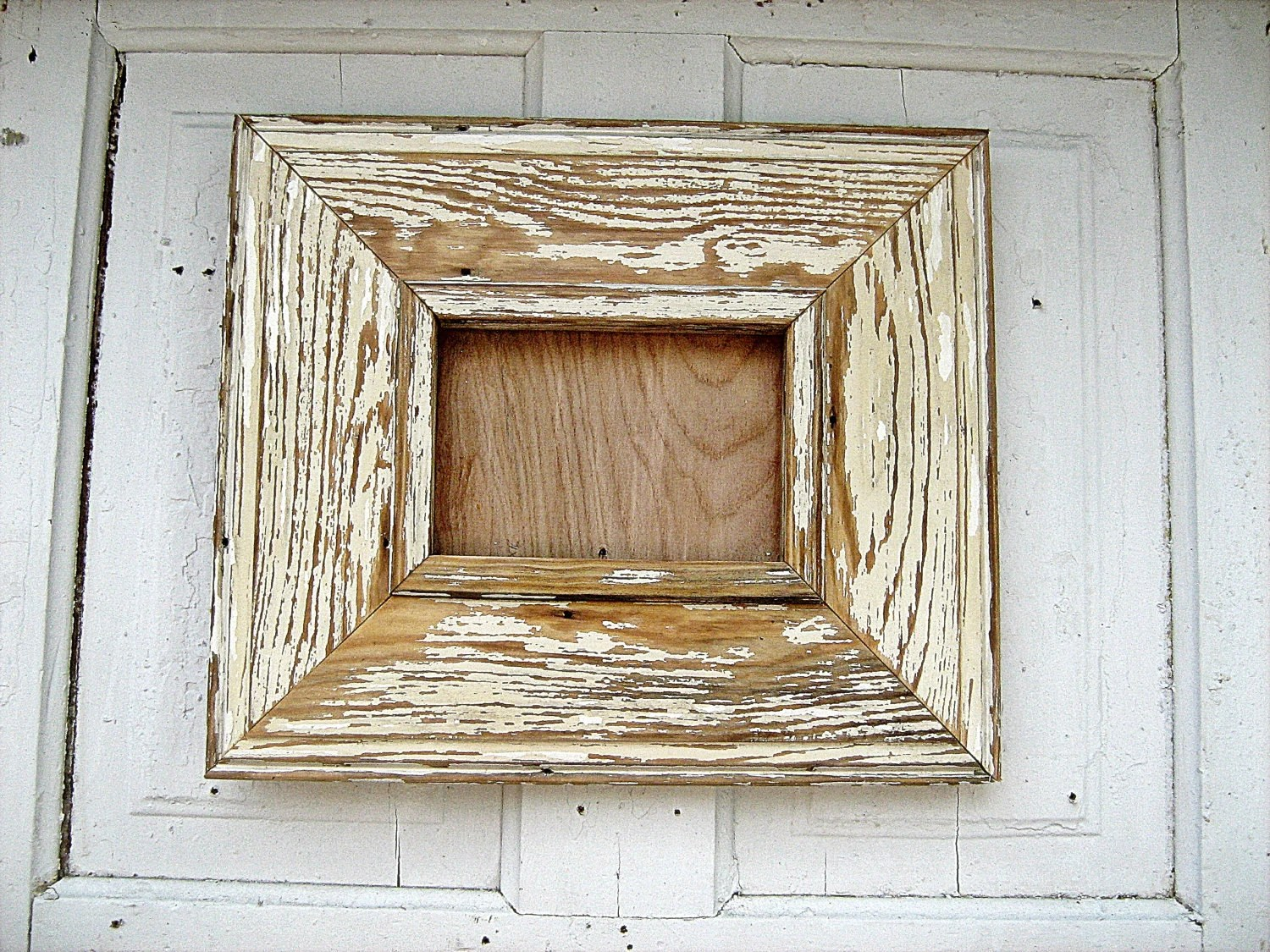 Chippy Off White 5x7 Picture frame - woodenaht
