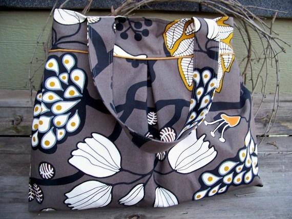 Canvas Tote Bag Travel Bag Purse Diaper Bag Forest in Sweden