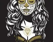 Day of the Dead / Día de Muertos - Front - 1 - Screen printed poster - eljefedesign