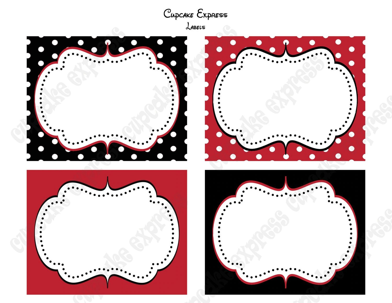 Free Printable Minnie Mouse Red Joy Studio Design Gallery