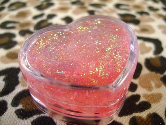 Pink Heart Body Glitter Gel Pot by Glitter Girls - heatherglnapothecary