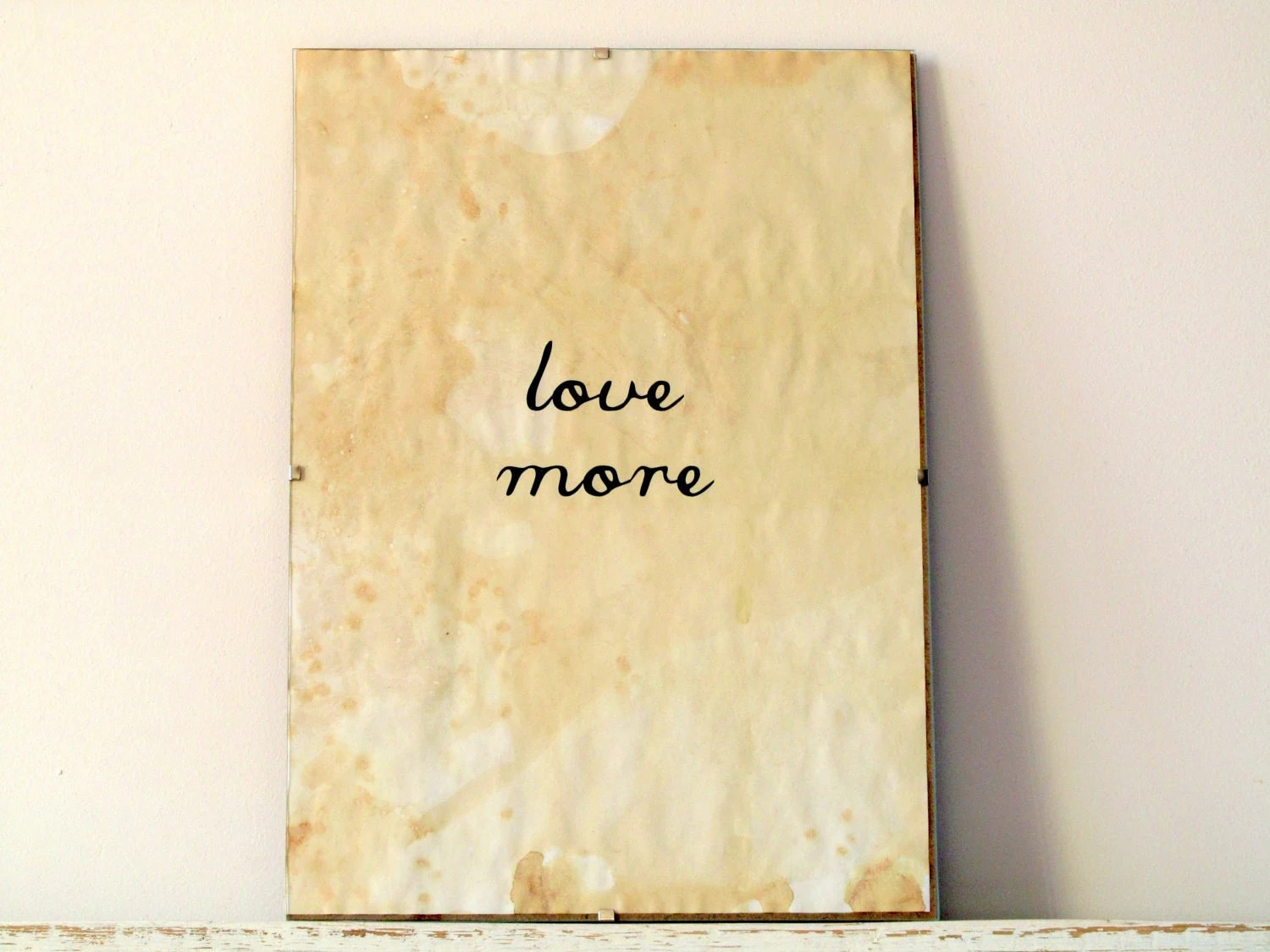 Wall Decor, Poster, Sign - Love More - regularhome