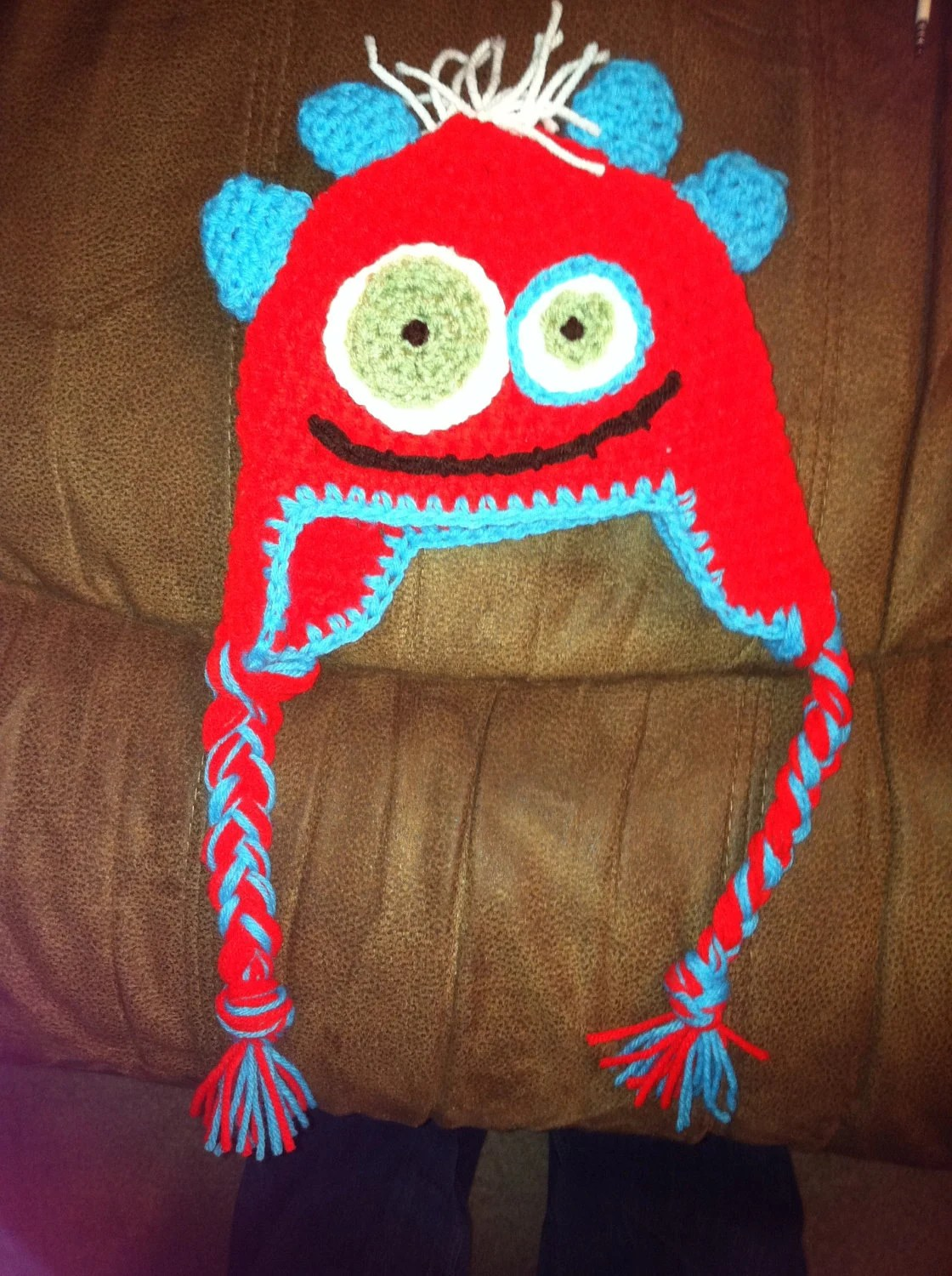 Baby Monster Hat