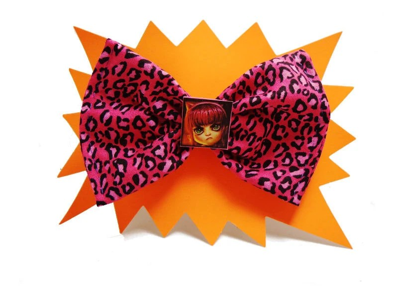 League of Legends Annie leopard hair bow