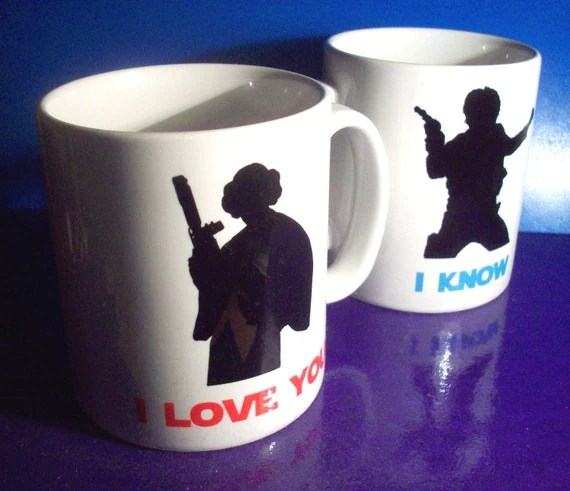 I Love You... I Know Mugs