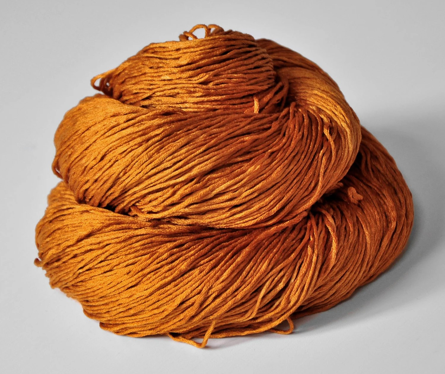 Passing leaf storm - Silk Yarn Fingering weight