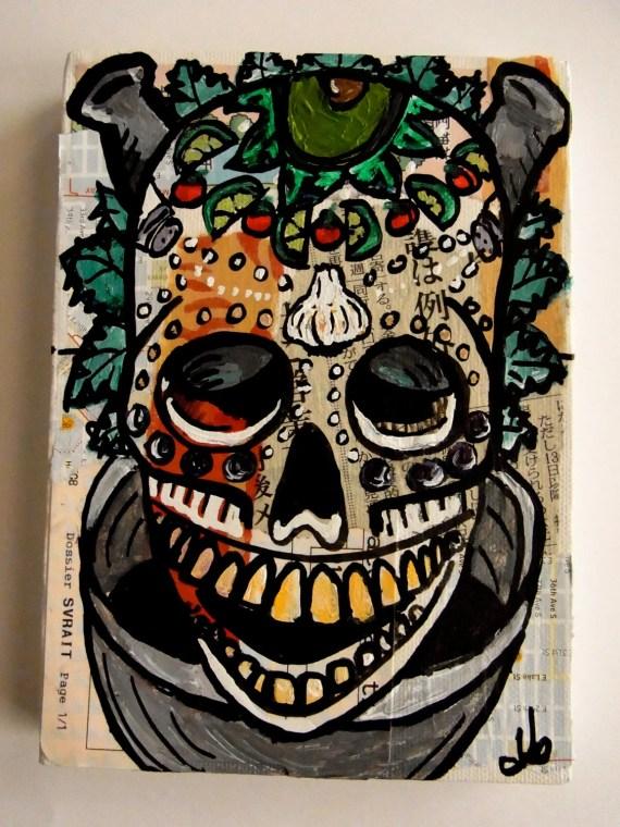 The Skullminary Arts: Guacamole 1. Original Painting