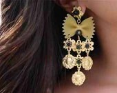 Obscurious Chandelier Farfalle Earrings