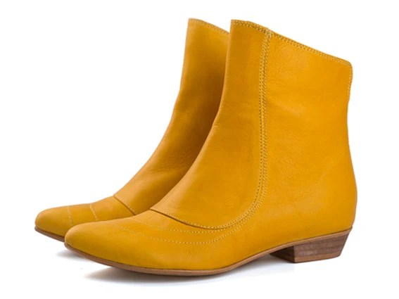Kim Sunshine Yellow boots - TamarShalem