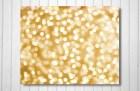 Gold, Elegant, Shabby Chic, Bokeh, Shining, Sparkle, Glitter, Celebration, Party - Raining Gold (8x10) Fine Art Print - urbandreamphotos