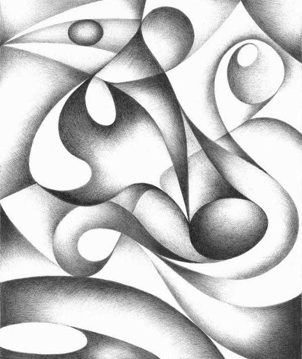 Abstract Black & White on Pinterest | Abstract Drawings ...