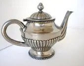 Vintage, Silver Plated Teapot
