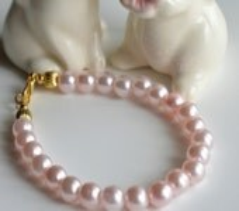 Soft Pink Pearl Bracelet - AnterraGardens