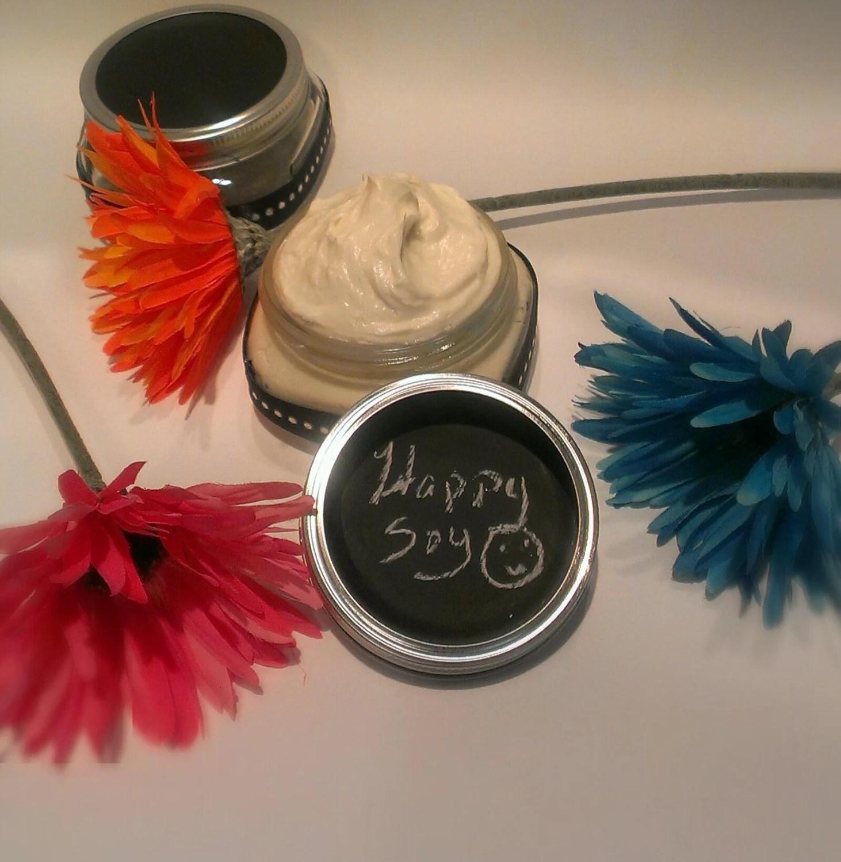 8oz Happy GMO FREE Soy Hair Butter/Curl Definer Hair Moisturizer/PH Balanced/Hair Cream