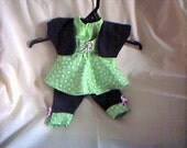 18 inch Doll 4 pc Outfit