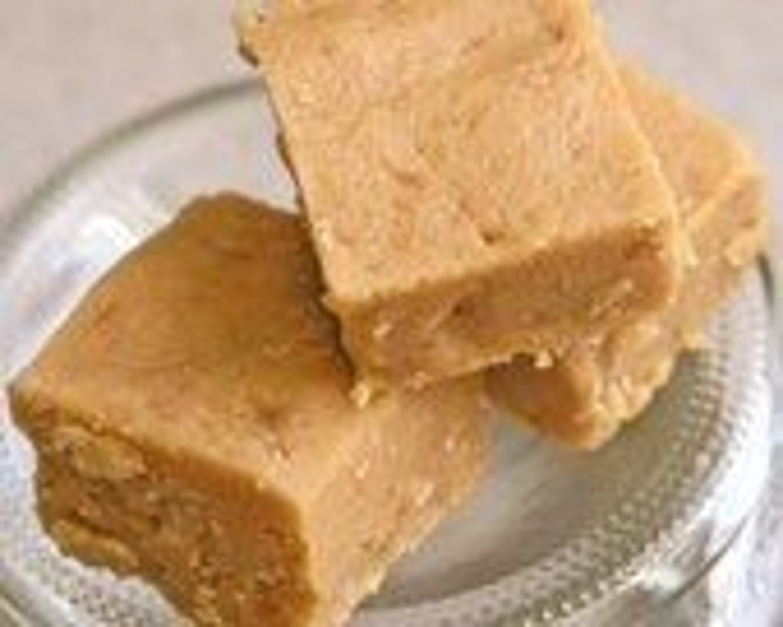 Vegan Fudge Squares Peanut Butter - 1/4 lb quarter pound - SweetVeganDelight