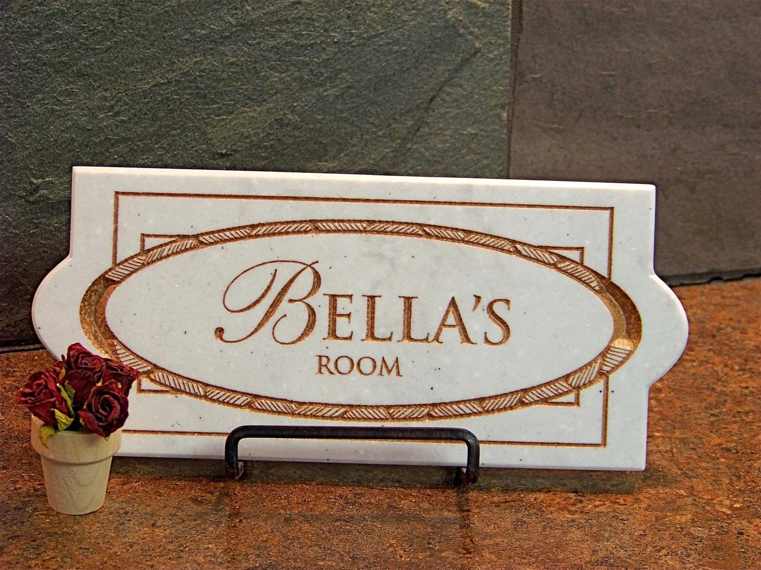 Bedroom Nameplate Personalized Baby Shower Gift