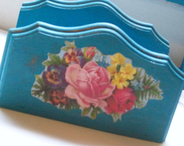 Turquoise Napkin Holder - NannysRose