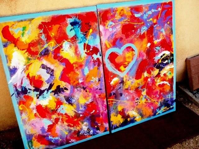 Magic of Joy- 2 Panel Acrylic