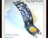 Hannah Rosner cuff bracelet bead pattern peyote stitch Van Gogh