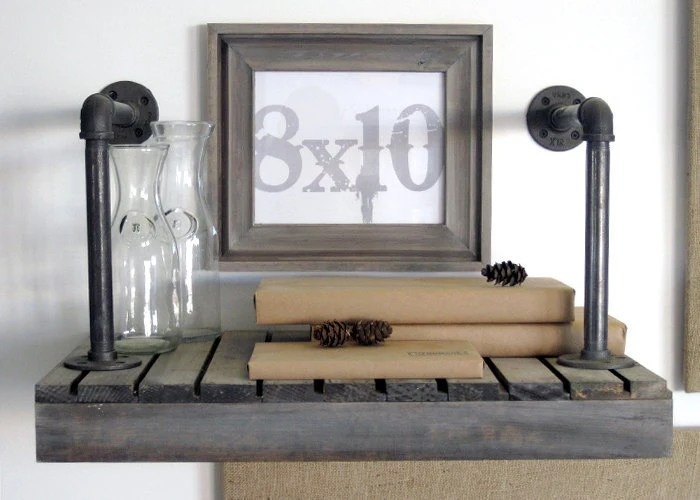 picture frames in driftwood gray cove style . 8x10 handmade picture frame