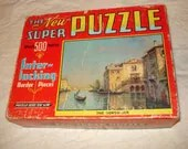 Vintage Puzzle - 'The New Super Puzzle'