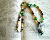 Metalica beaded necklace