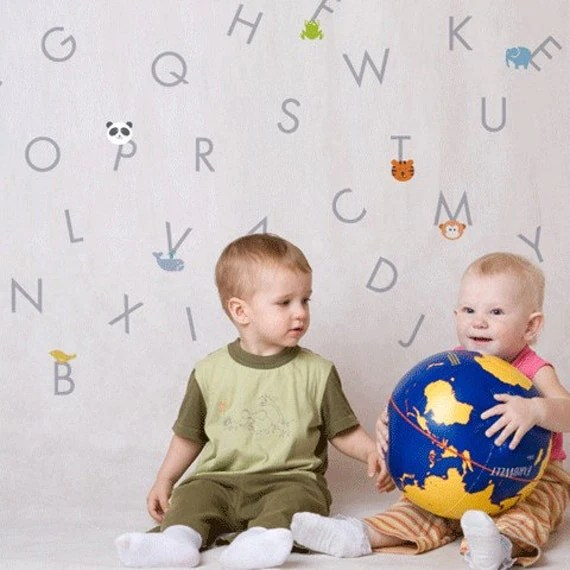 itstics - Alphabet wall sticker