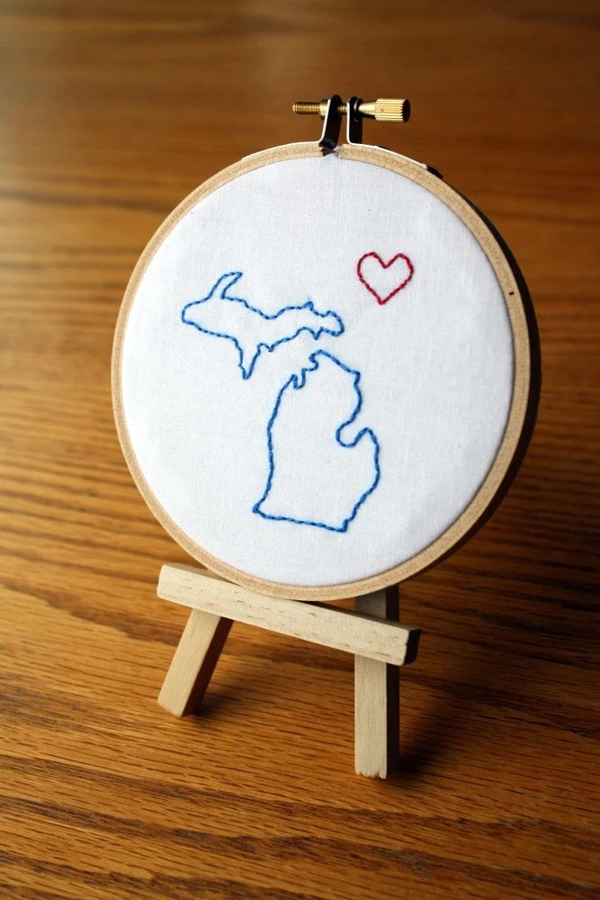 michigan embroidery