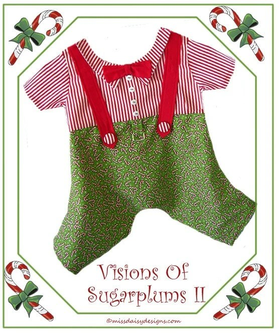 Boy Dog Clothes Sewing Pattern Christmas Holiday M PDF