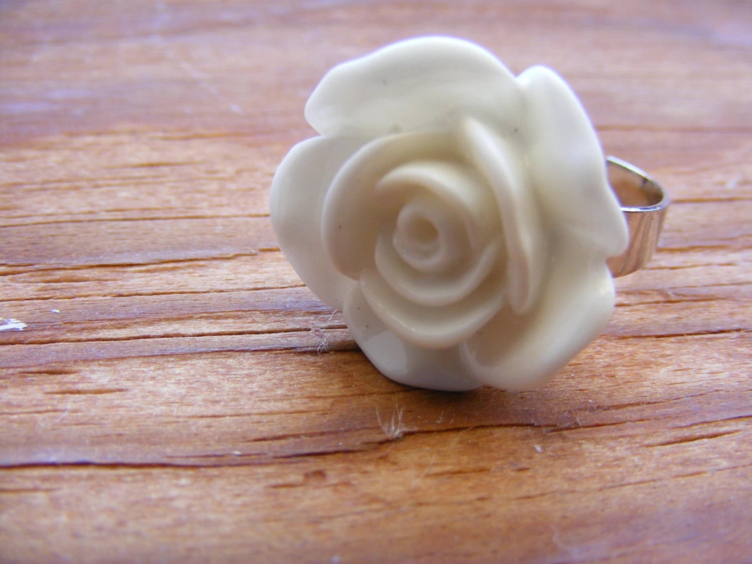 Ring Bella Purity Flower