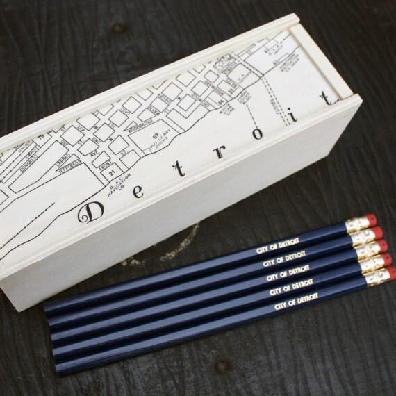 City of Detroit Pencils