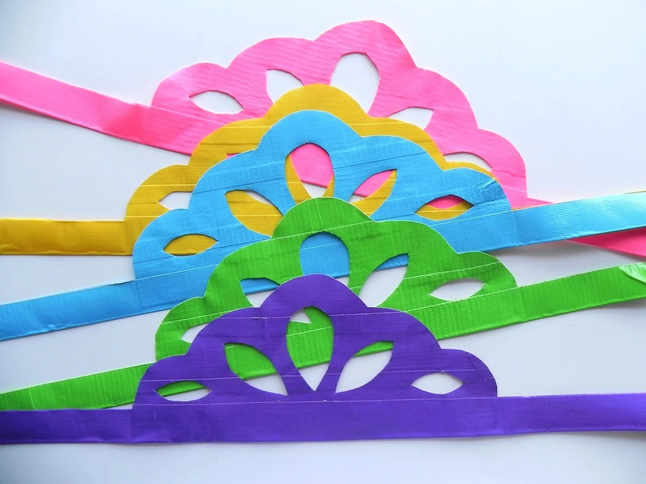 5 Duck tape Party Crowns - $20.00