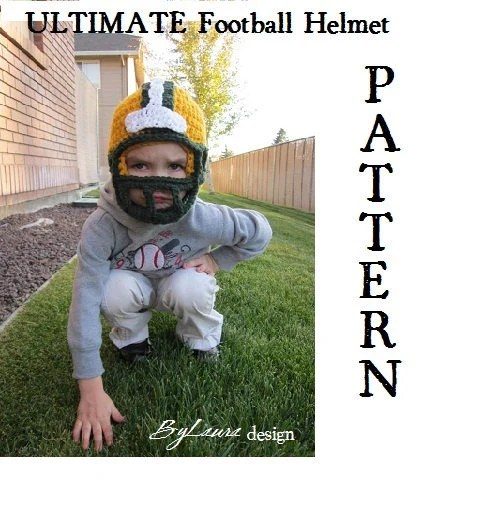 PATTERN-- Football Helmet
