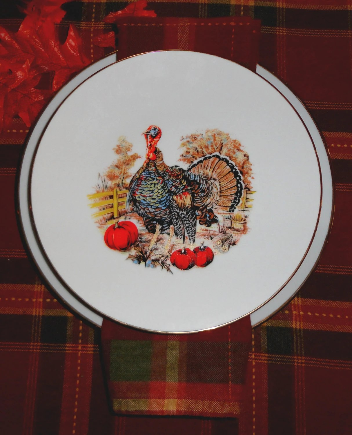 Thanksgiving Plates