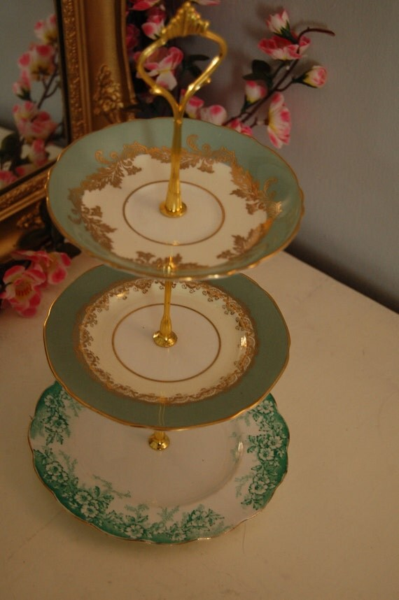 Vintage 3 Tier Cake Stand