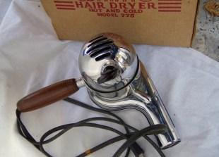 1940s Eskimo Hair Dryer 775 Chrome with the Box