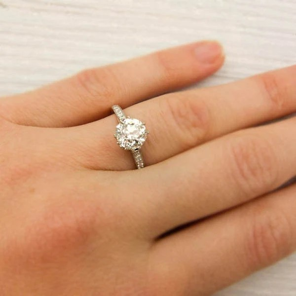 Erstwhile Jewelry: Antique Tiffany & Co Ring   mikaseven