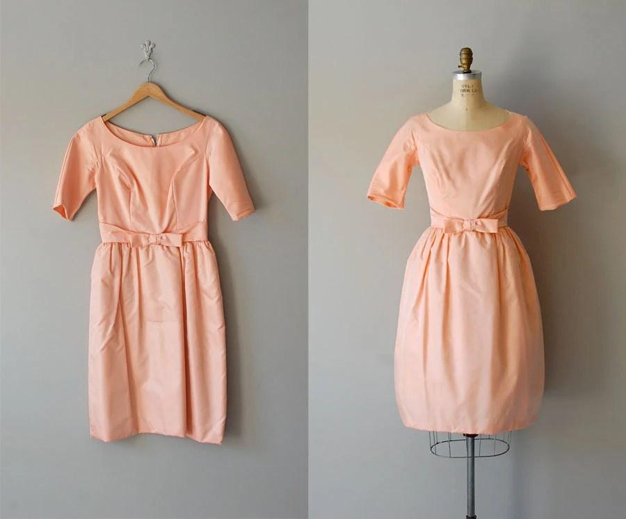 60s dress / 1960s dress / party dress / Sweet Sorbet