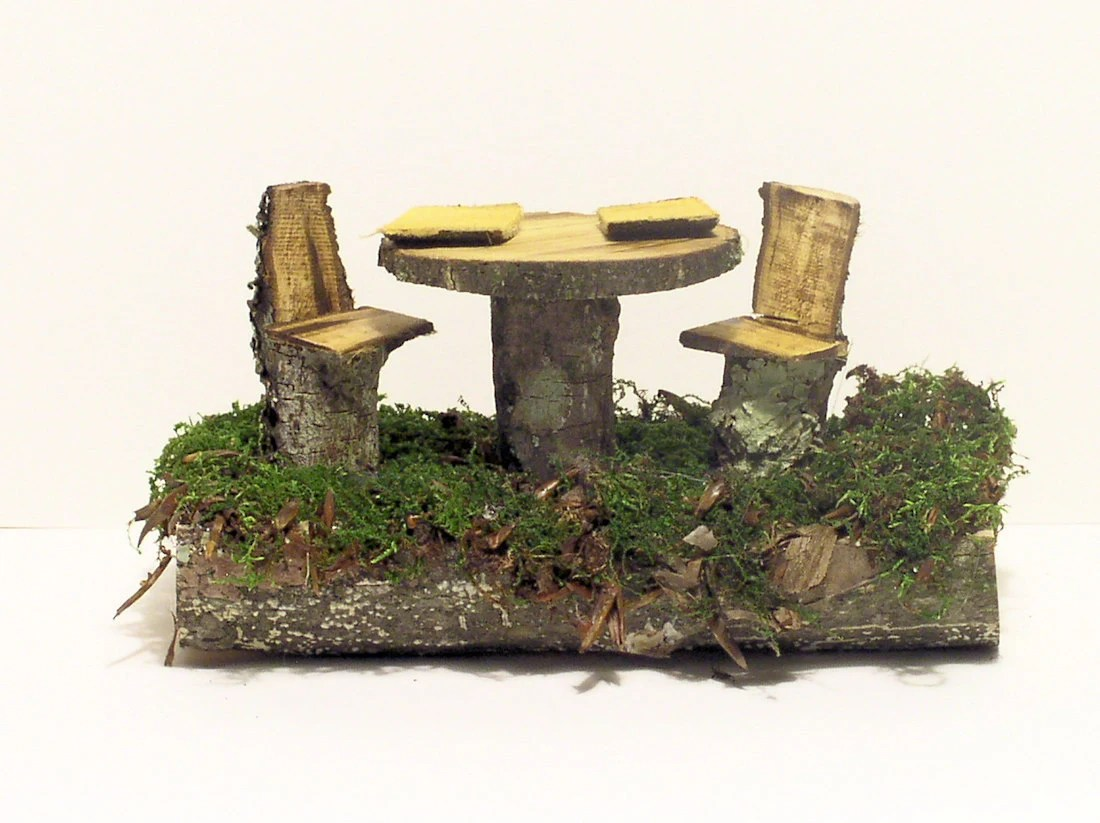 Fairy House Setting Table and Chairs