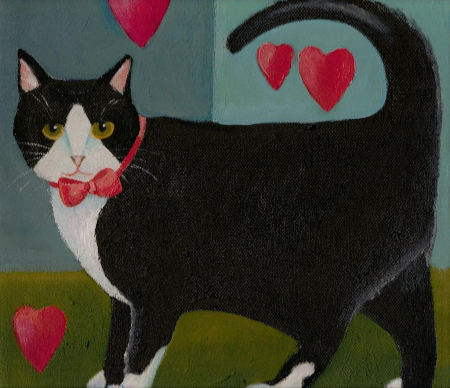 artcatsdogsbunnies on pinterest cat art