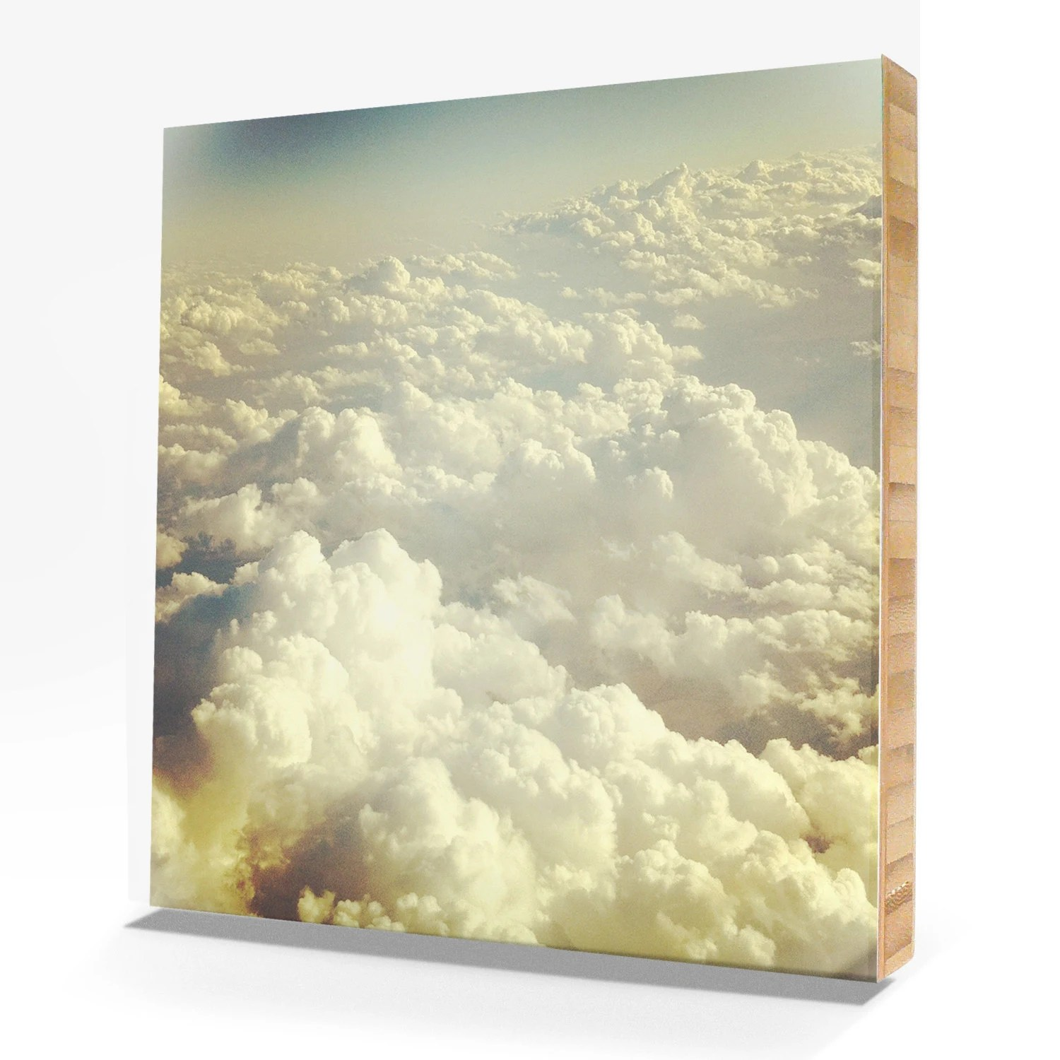 heavenly clouds, seen from above photograph by [en]frame photography by rachel boyer