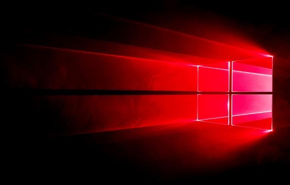 Обои Windows Логотип Windows 10 Redstone картинки на