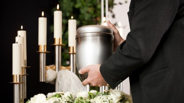 funeral urn candles