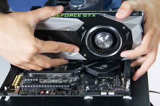 Instalando GPU em placa ASUS