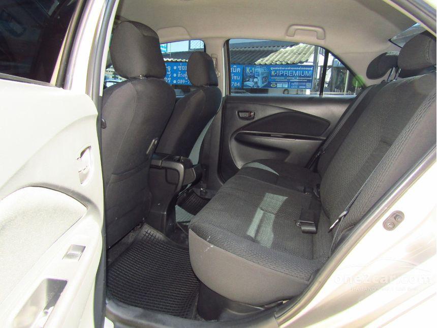 Toyota Vios 2011 ปี 07 13 E 1 5 เกียร์อัตโนมัติ สีทอง