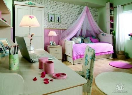 Идеи детской для девочек (от 3 лет) - детские комнаты для ...