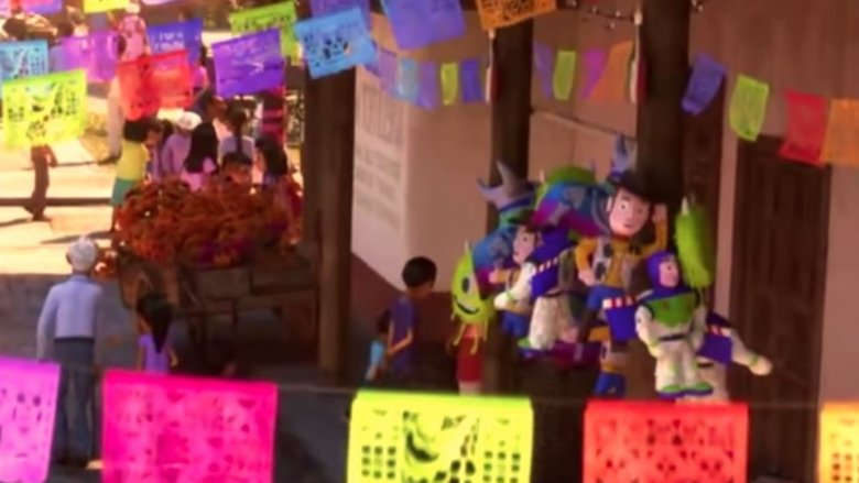 Image result for pixar coco, pinatas