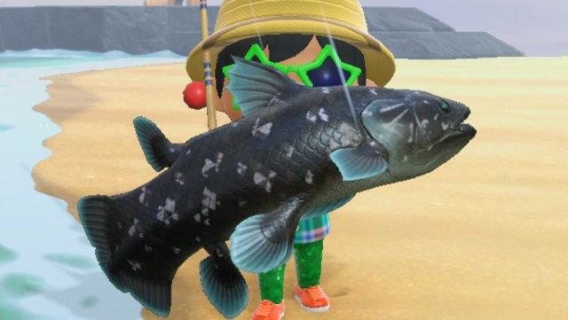 creepy animal crossing, fish, sunfish, barreleye, new horizons